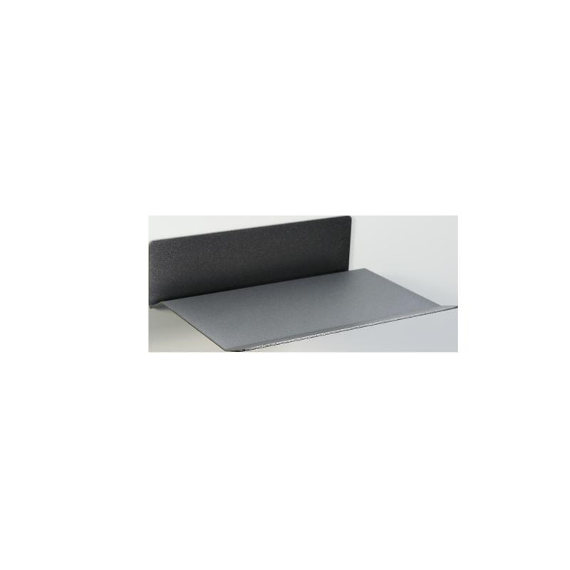 Magnetic wall shelf